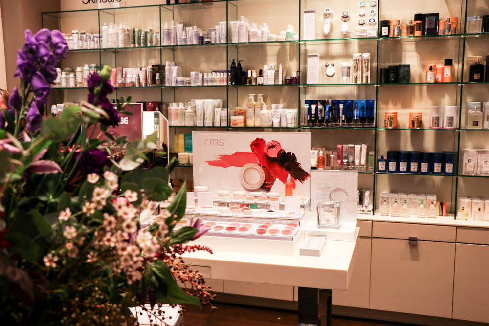 The launch of RMS Beauty at Space NK in Bath on Wednesday 18th October 2017