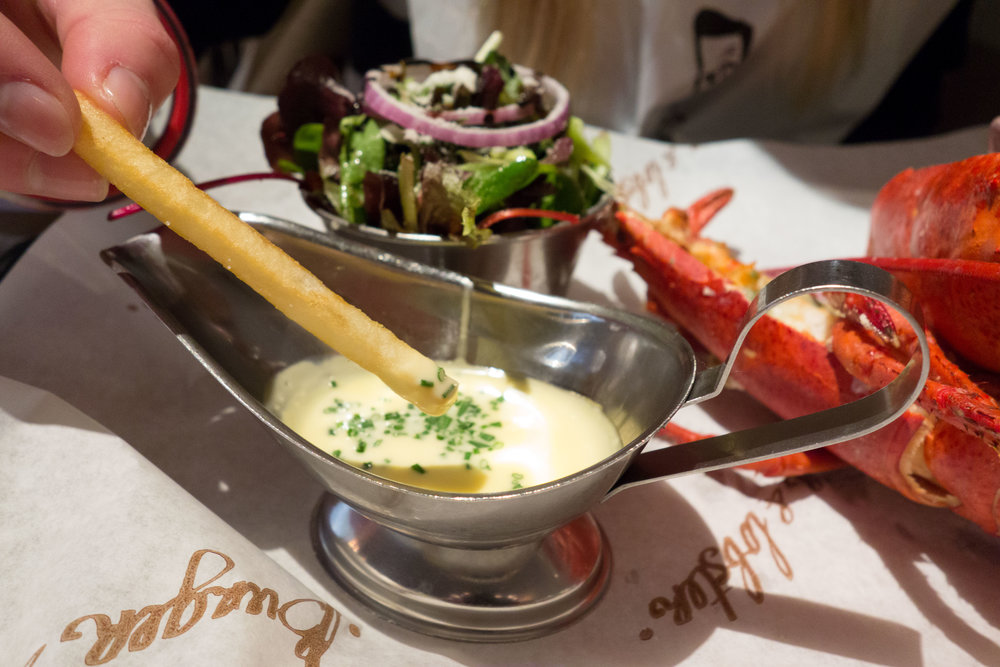 Burger & Lobster - Bath - 28th March 2016