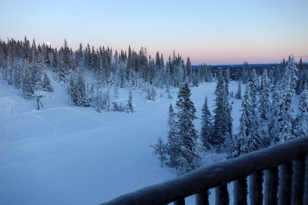 Copperhill Mountain Lodge - Sweden - 2nd March 2016