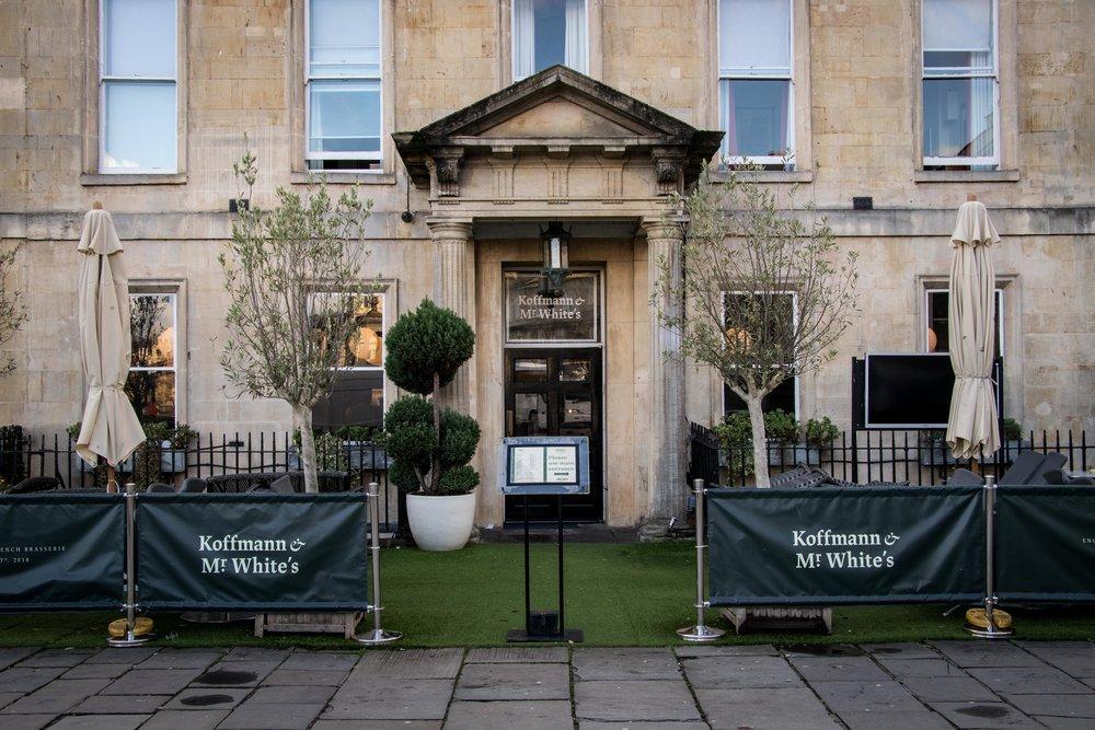 Koffmann & Mr. White's - Abbey Hotel Bath