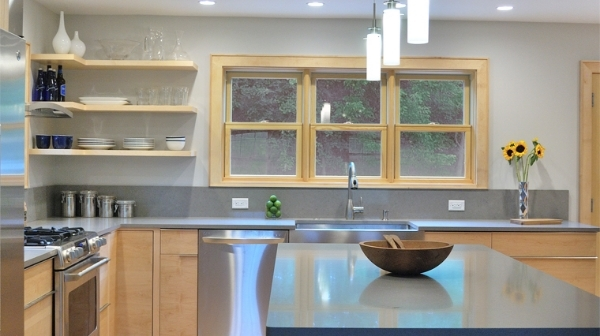 Kitchen Design Vt maeck farm road: a vermont colonial is thoughtfully modernized