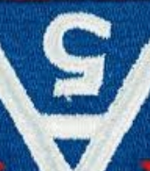"Coincidentally, when flipped vertically, the 5th Army patch begins to resemble the Superman ""S"" shield."
