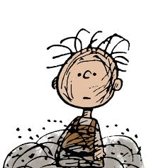 Charles Shultz's comic strip Peanuts is very well known, as is the slovenly character, Pig Pen.