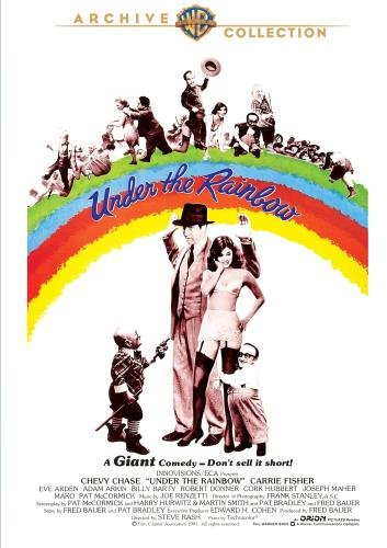 """The plot is loosely based on the gathering of little people in a Hollywood hotel, to audition for roles as Munchkins in the movie The Wizard of Oz. The movie also has nobility, assassins, spies, and tourists."" https://en.wikipedia.org/wiki/Under_the_Rainbow"