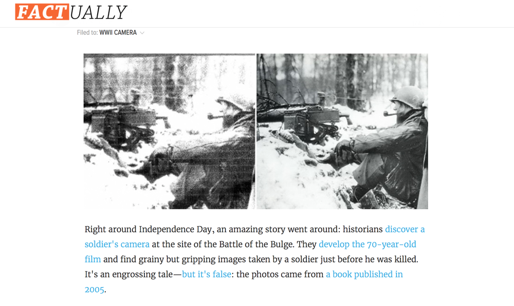 http://factually.gizmodo.com/discovery-of-wwii-photos-in-a-foxhole-was-just-a-dumb-h-1603607082