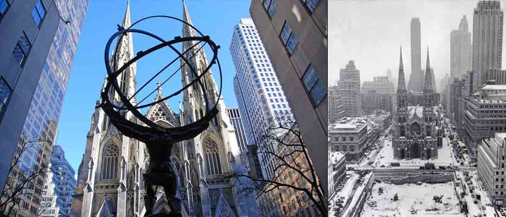 New York City Rockefeller Center 05 Atlas Statue And St Patricks Cathedral copy.jpg