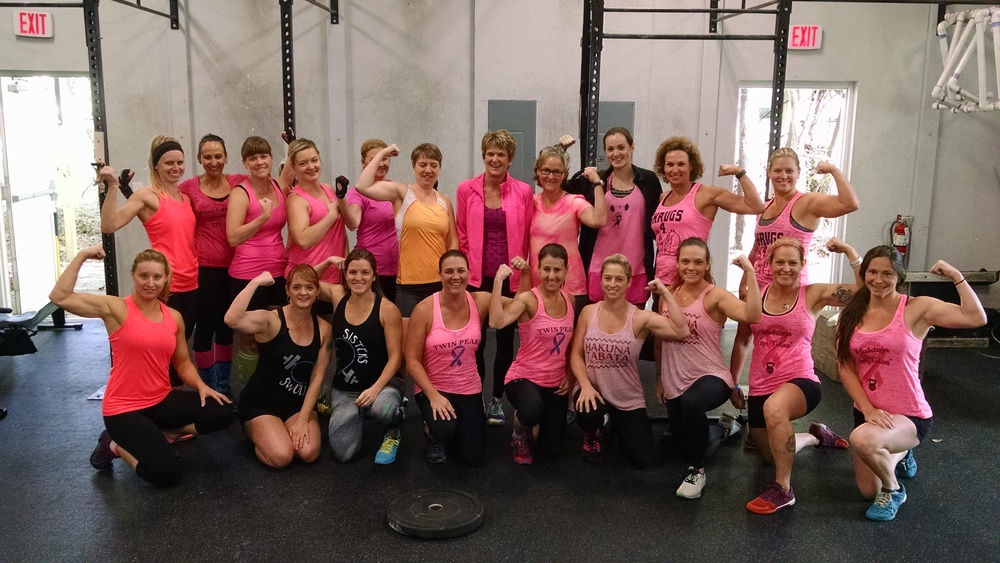 Just a handful of our strong, beautiful women here at Gator CrossFit...