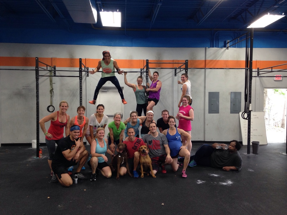 My last group class as coach and owner of Gator CrossFit.  Thanks to everyone that came out.  I had a blast being your coach!