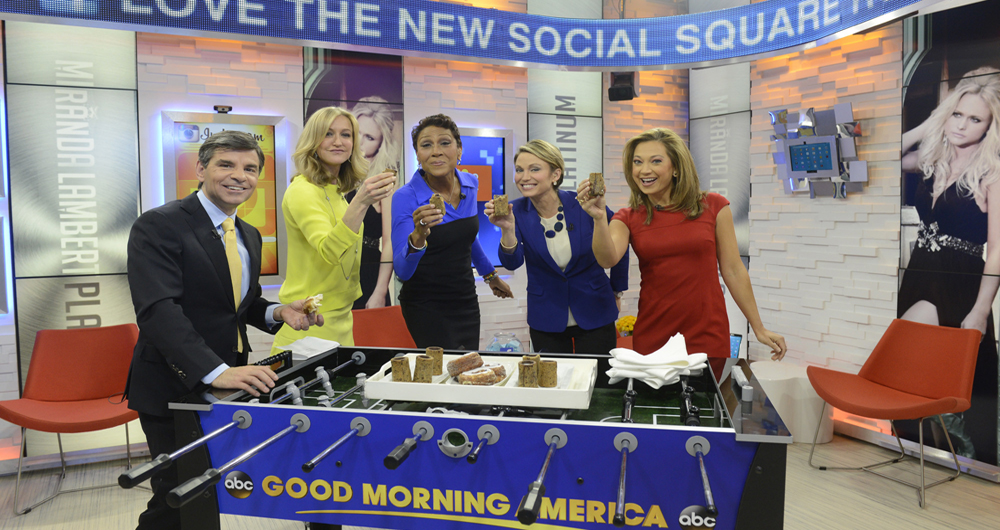 GOOD MORNING AMERICA ABC      New York - USA