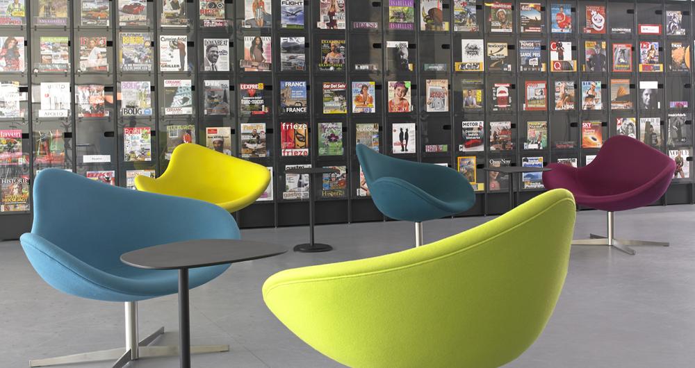 LYNGBY LIBRARY   Copenhagen - Denmark