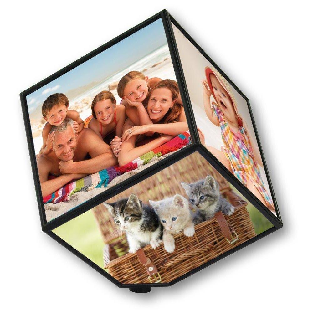 Foto Cubo 11,50 € - Cubo rotante con le tue foto