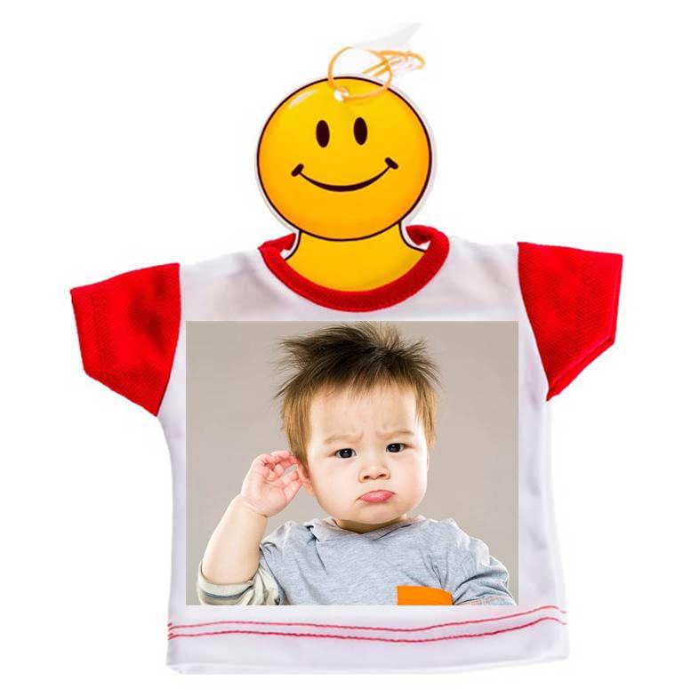Mini Tshirt 9,50 € - Bimbo a bordo! Da appendere proprio dove vuoi!