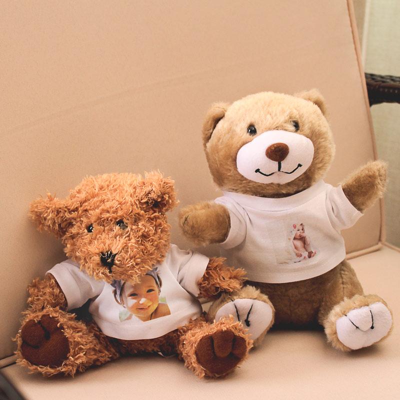 Peluche 15,00 € - L'amico più dolce di ogni bambino e il più tenero messaggio di amore tra innamorati! Orsetto, Giraffa e scimmietta.