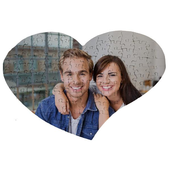 Puzzle cuore 15,00 € - Metti insieme tutti i pezzi della tua storia