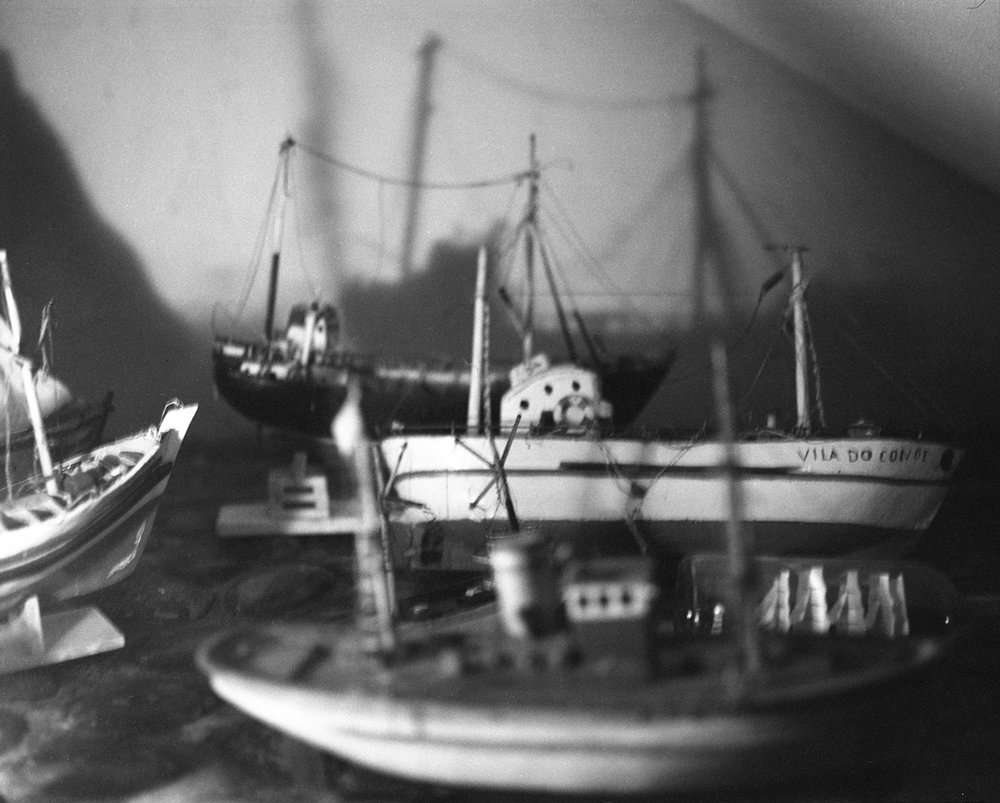Collection of miniature boats at my grandmother's, Vila do Conde, September 2017