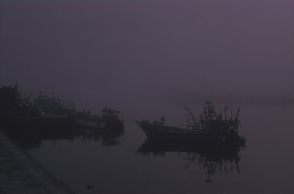 Foggy morning in Vila do Conde, September 2017