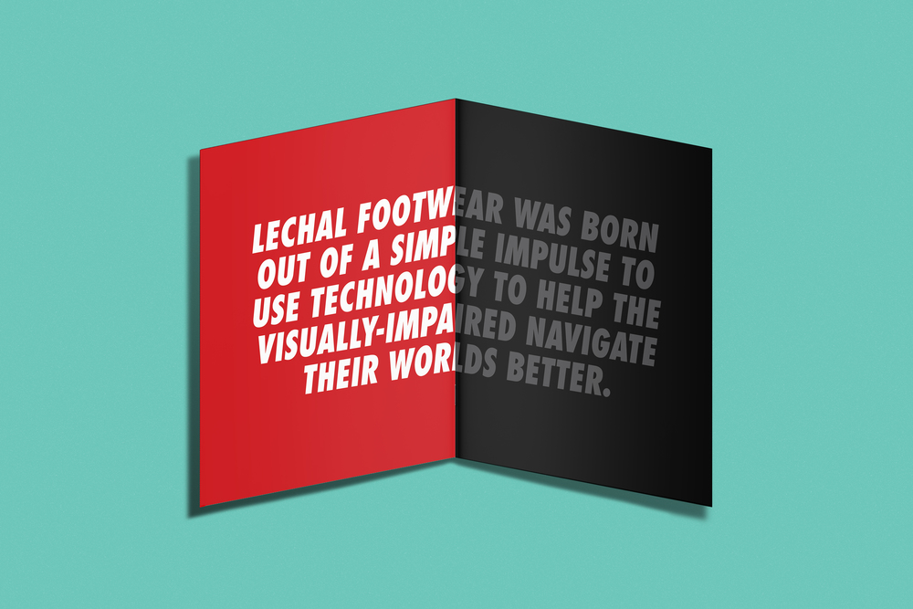 LECHAL LAUNCH PROMO BOOKLET