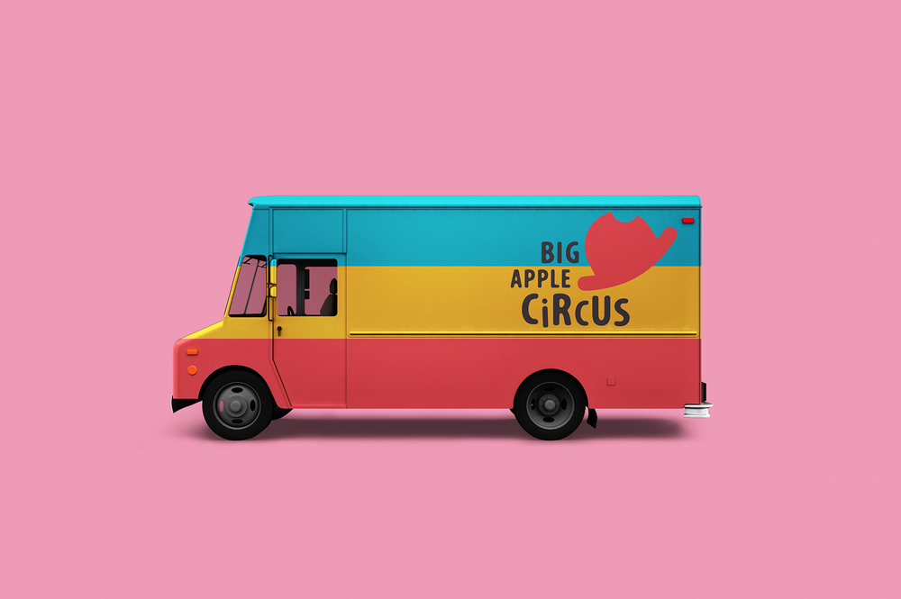 BIG APPLE CIRCUS VAN