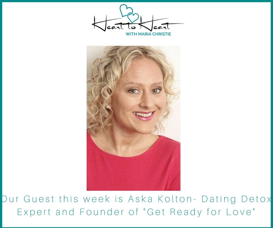 Aska Kolton - In this Heart to Heart I'm talking with Aska Kolton Dating Detox Expert & Founder of Get Ready for Love. (www.getreadyforlove.uk/author/aska-kolton) about her personal journey from over 100 dates, to dating burnout, to her dating detox and how that change her personally, and the trajectory of her dating Relationship life.