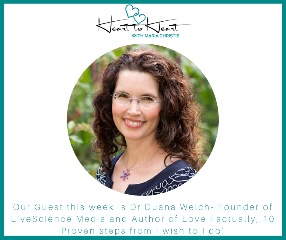 Dr Duana Welch- Part 1 - In my Heart to Heart with Dr Duana Welch,Dating and Relationship Expert and Author of