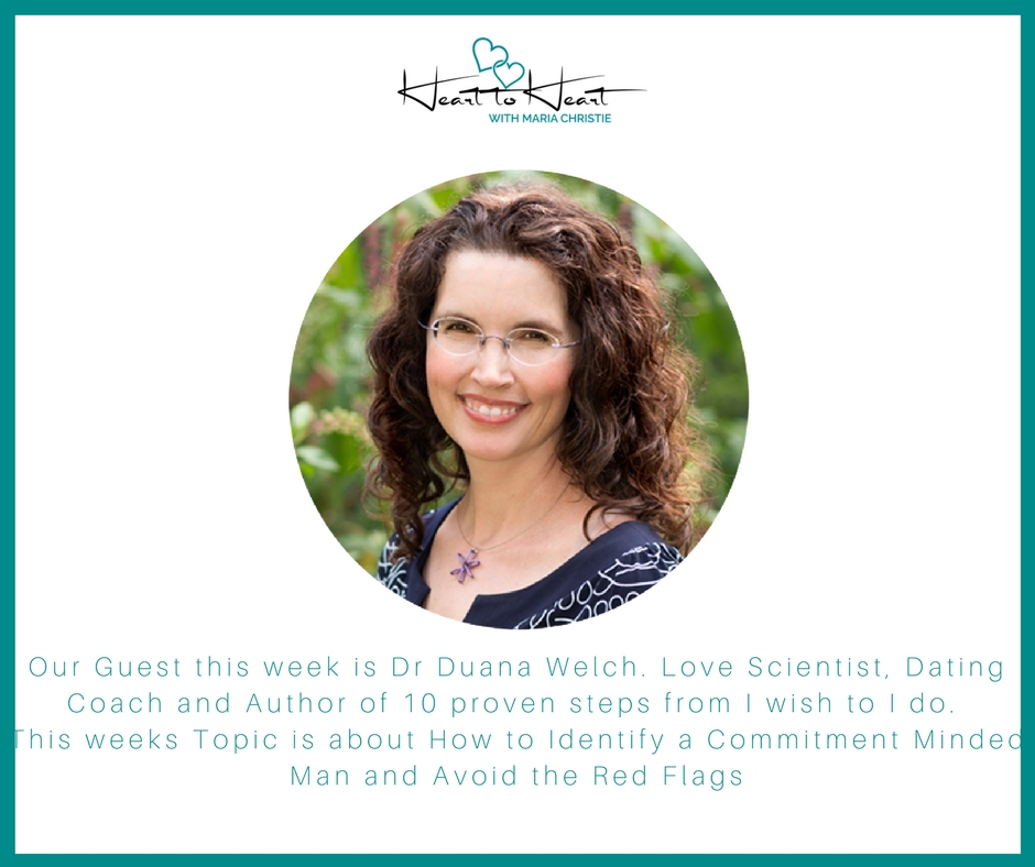 Dr Duana Welch -Part 2 - How to Identify a Commitment Minded Man and the Red Flags to be mindful that tell you the man you're dating isn't serious about a serious future relationship.