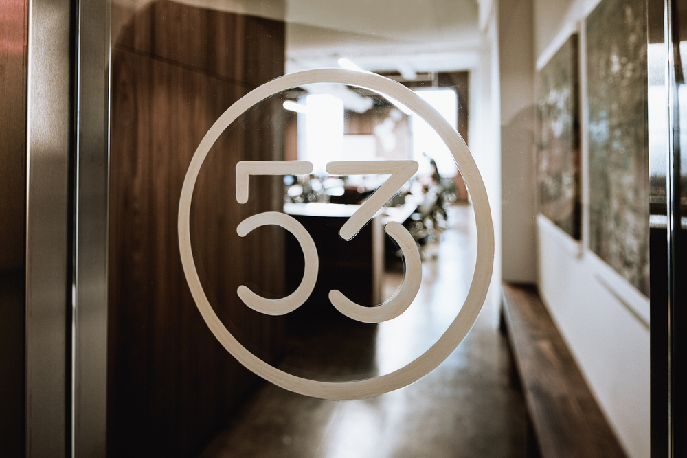 FiftyThree entrance, photographed by James Chororos