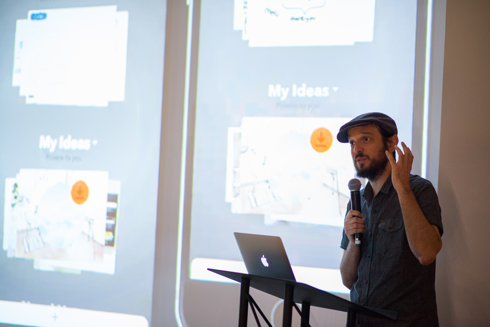 FiftyThree head of prototyping Amit Pitaru discussing the product design methodologies we use