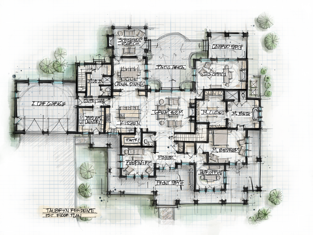 Architecture Ideas Part - 43: Talbryn_1stfloorpng