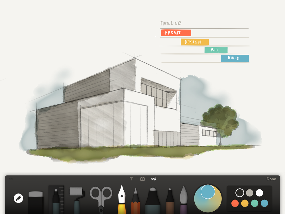 paper comes to the ipad pro — the open studio: a blogfiftythree
