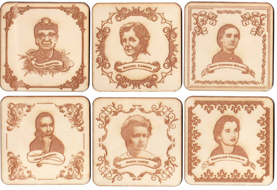 Women of Science Coasters