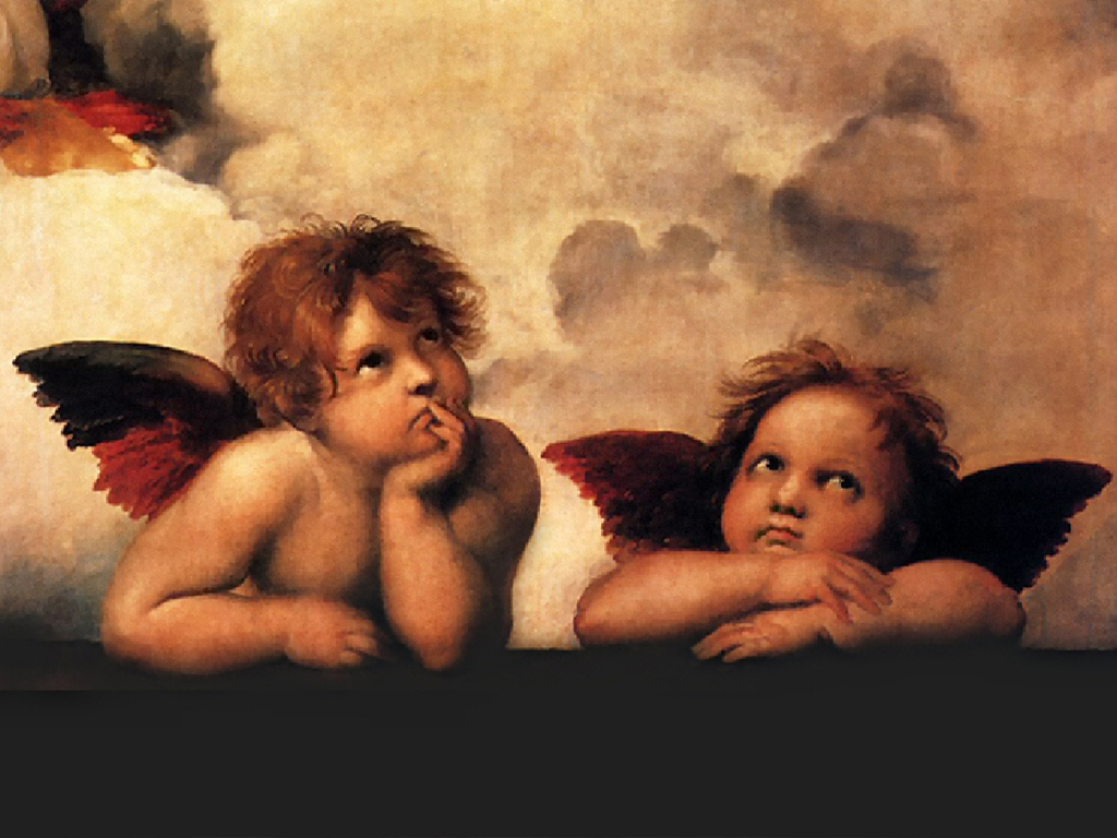 Sistine Madonna, detail