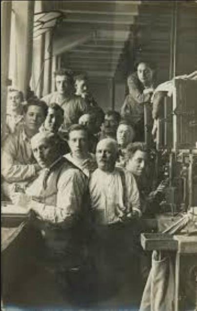 1913, diamond workers portrait