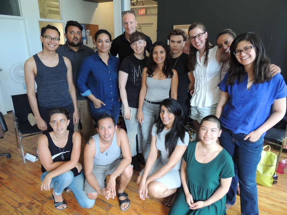 The SLIP 2015 participants and facilitators: (Left to Right) Back: Rafael Antonio Renderos, Waleed Ansari, Suma Nair, Michael Wheeler, Olive-or-Oliver, Michaela Di Cesare, Wayne Burns, Ali Richardson, Mumbi Tindyebwa, Mirette Shoeir. Front: Carmina Infante, Joseph Recinos, Harsharan Sidhu, Bertha Lee