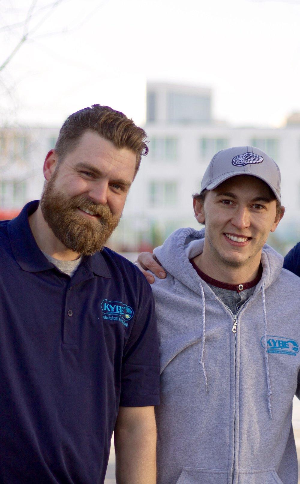 Kyle Robertson & Jason Shaw