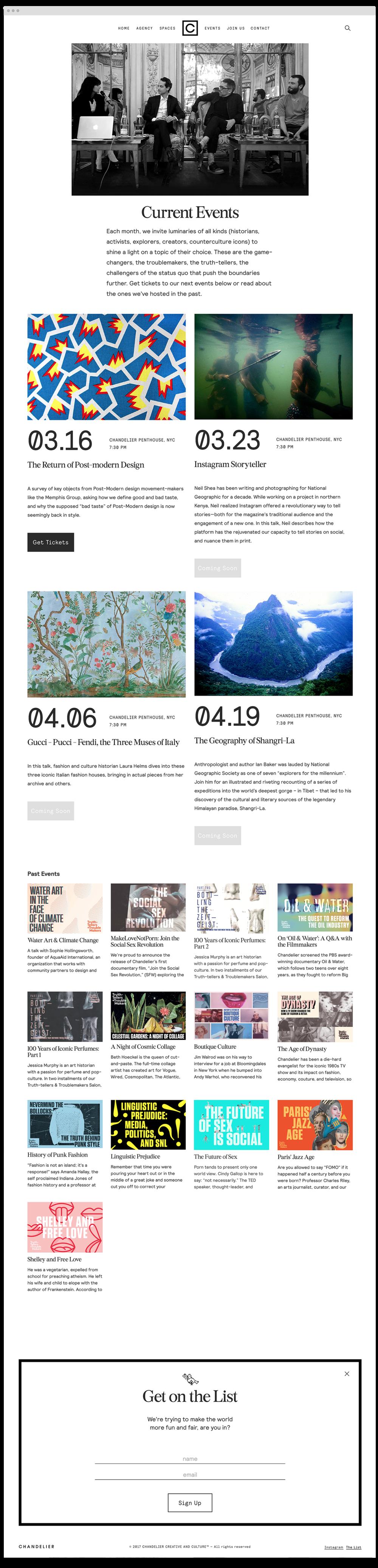Chandelier Creative — vuj