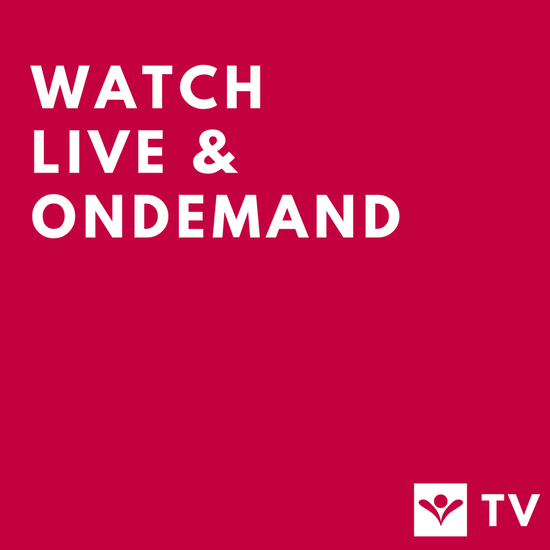 Don't miss a thing! Join our online gathering live, download our app, or watch OnDemand.