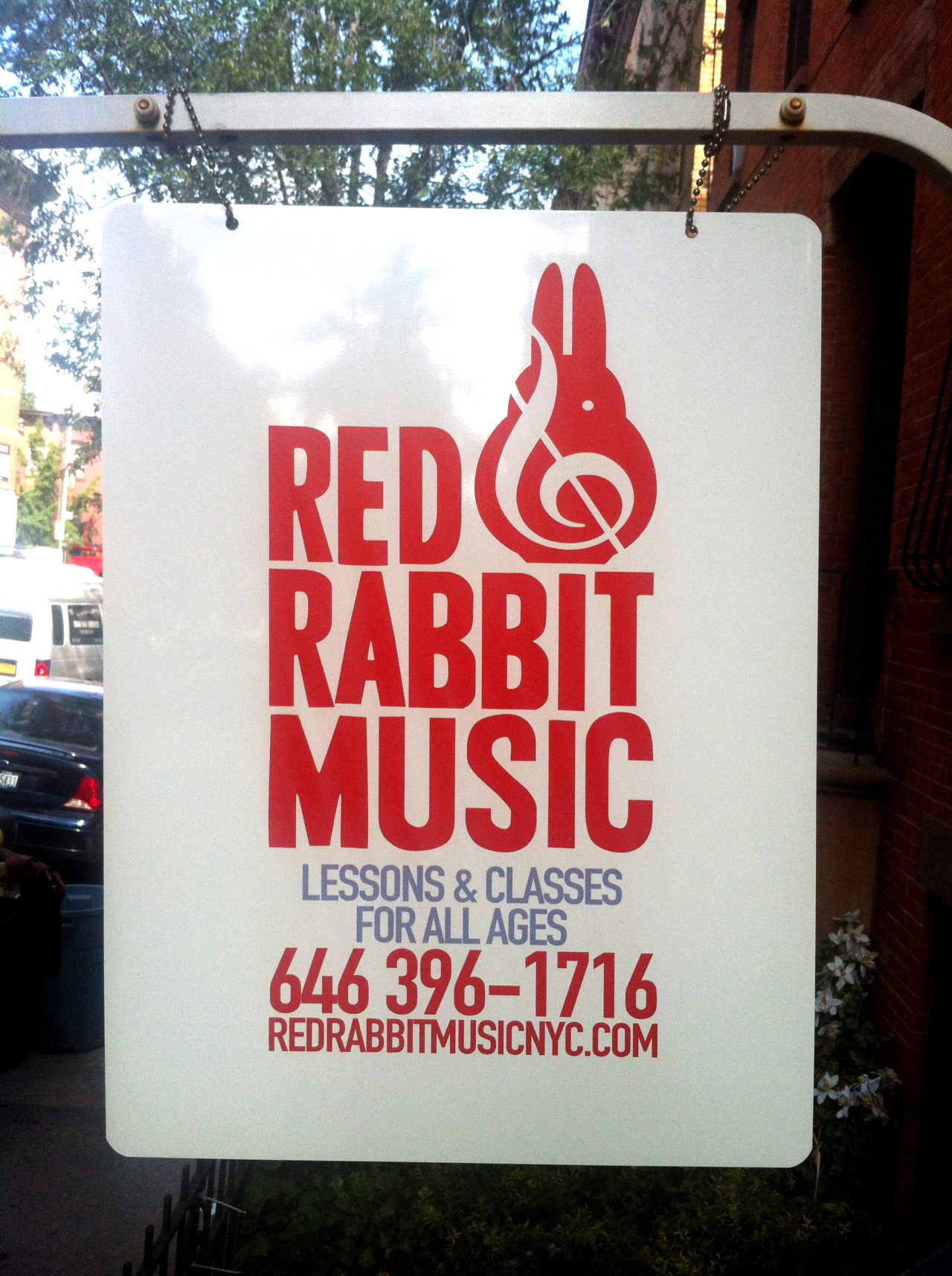 The Red Rabbit Music studio is here for YOU! We provide a variety of music lessons & it's never too late to start. Check us out at redrabbitmusicnyc.com!