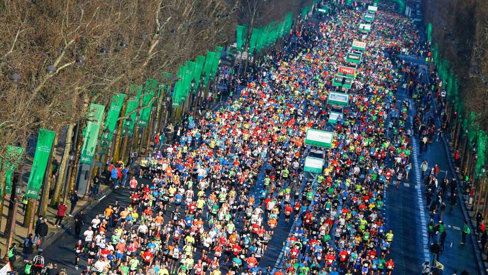 (Photo: Paris marathon)