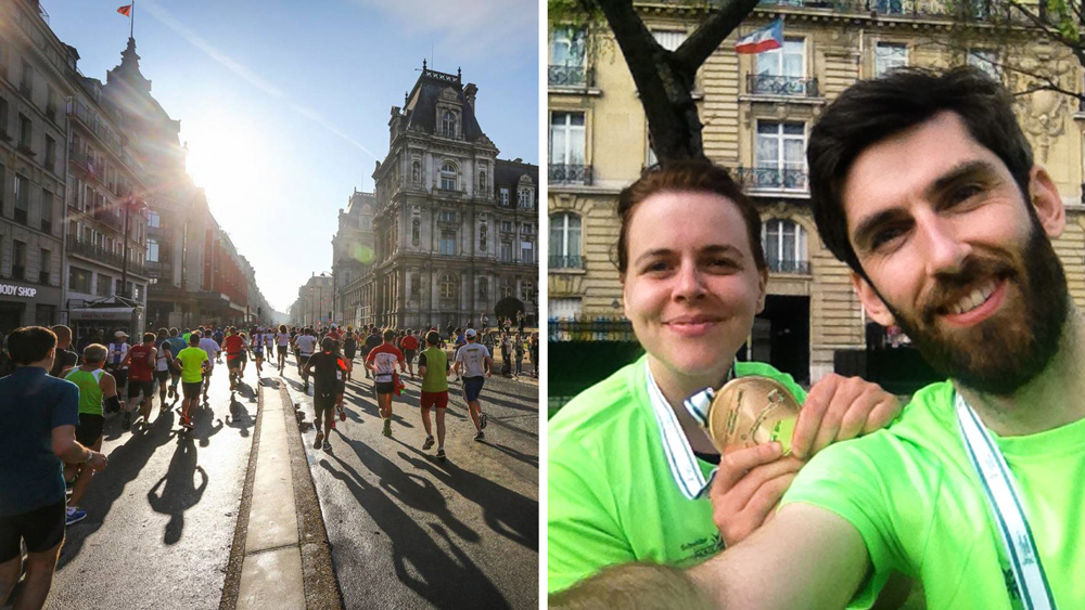 (Photos: Paris marathon / J. Brown)