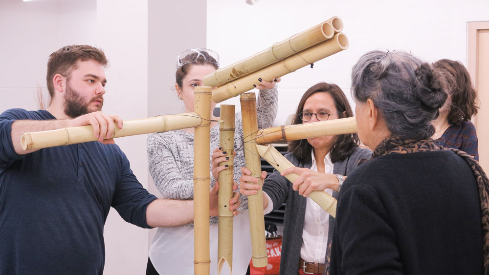 Bamboo & earth workshop