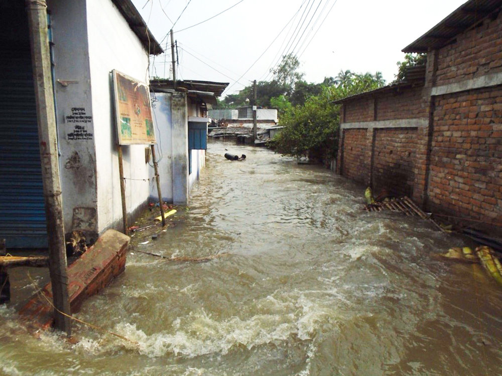 Jogen Babu Maath flooding