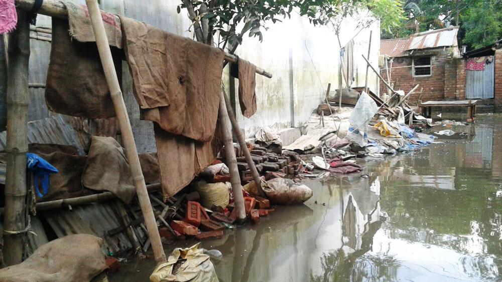 Damage to houses and livelihoods
