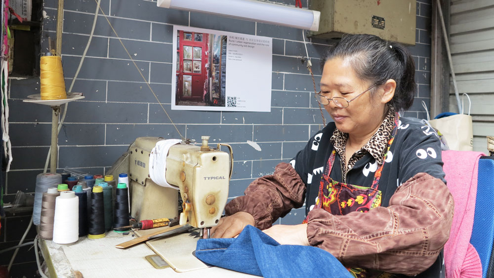 Nantou tailor hosts one venue
