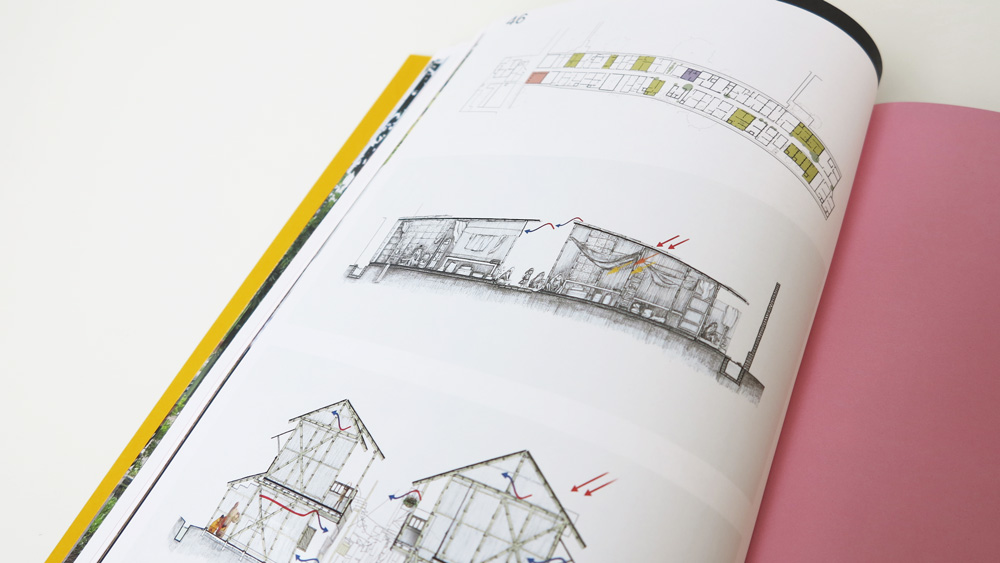 Incremental slum upgrading drawings