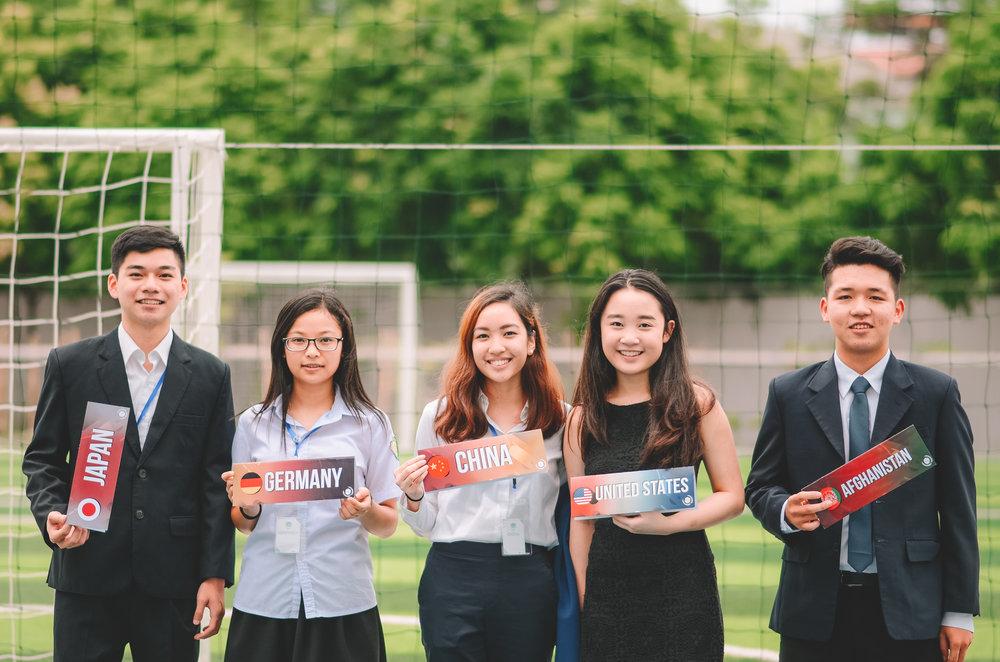IVMUN 2017 Delegates