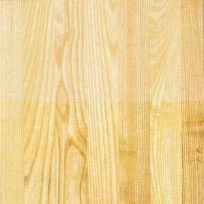 White Ash Hardwood Flooring Top Half Water Urethane Finish Bottom Oil