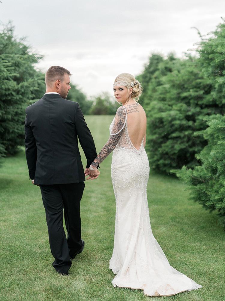 Backyard Wedding Small Wedding Simple Wedding Vintage Wedding Waterloo Ia  Wedding Photographer