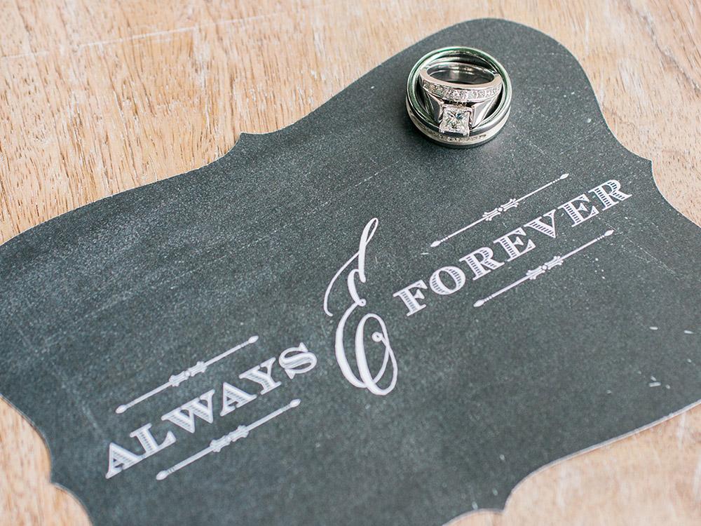 chalk board invitations princess cut diamond  waterloo cedar falls ia wedding photographer.jpg