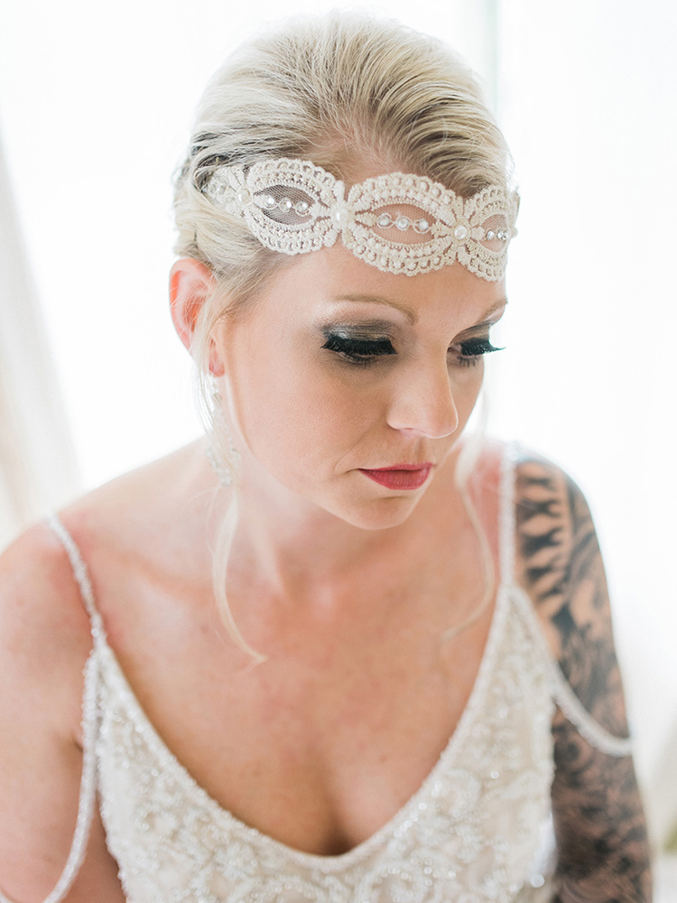 long lashes lace hairpiece tattood bride waterloo ia wedding photographer.jpg