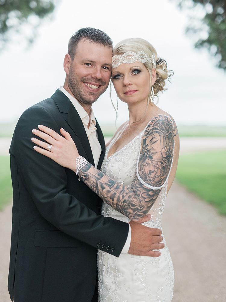 tattood bride lace headpiece diamond jewlery vintage waterloo ia wedding photography.jpg